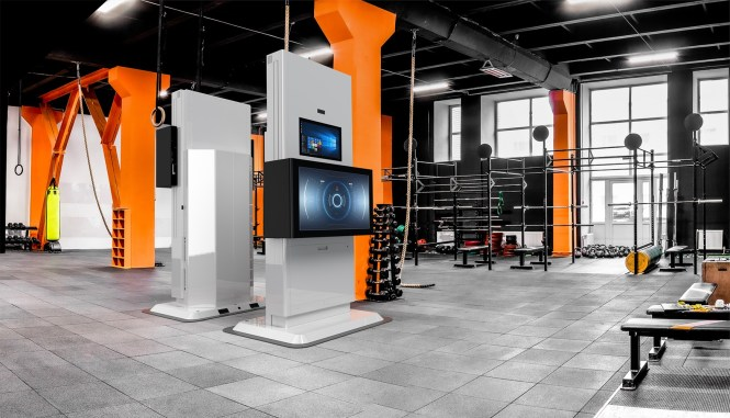 Nike SPARQ Sensory Training Station by Olea Kiosks Inc