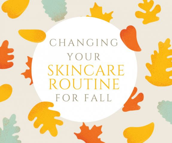 skincare routine for fall