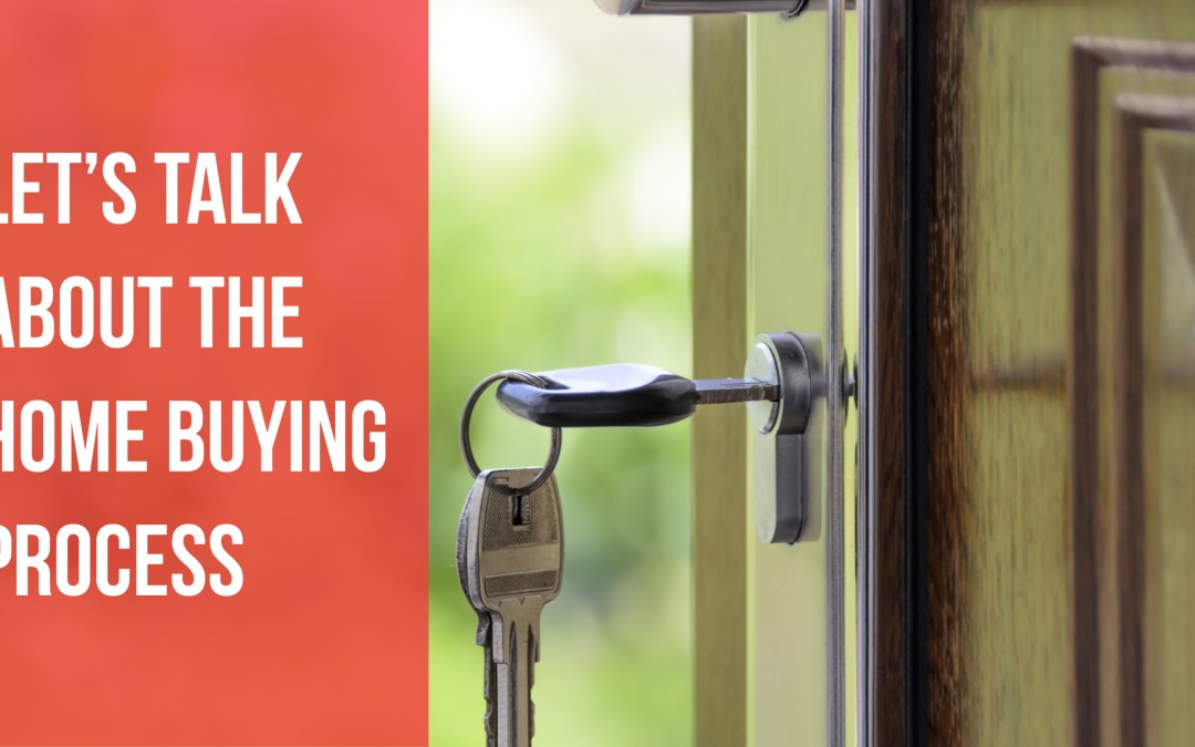 Let's talk about the home buying process
