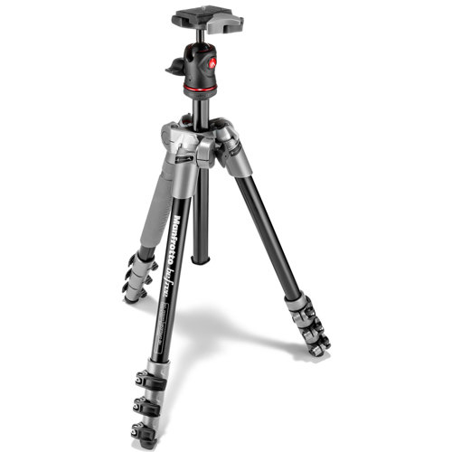Manfrotto Befree Aluminum Tripod with Ball Head Grey