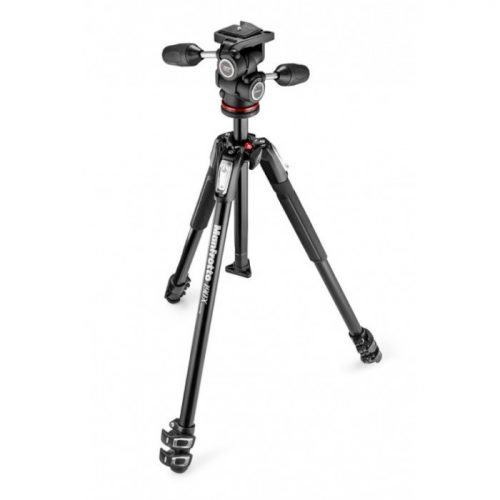 Manfrotto MK190X3-3W1 Tripod Kit