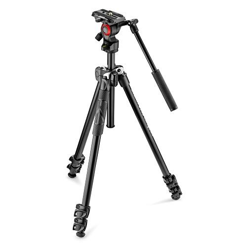 Manfrotto MK290LTA3-V Tripod with Fluid Video Head