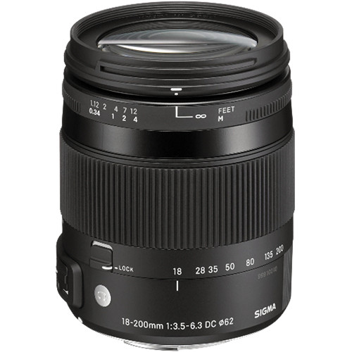 Sigma 18-200mm F3.5-6.3 DC Macro OS HSM | Contemporary