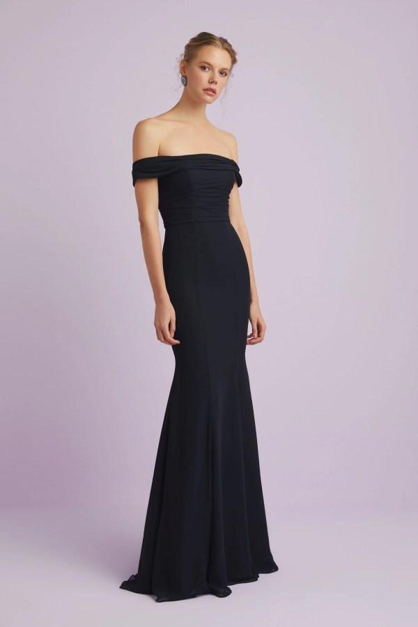 Elegant -shoulder Formal Gown-4xlvc3771