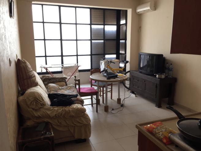 снять квартиру в Израиле - зал