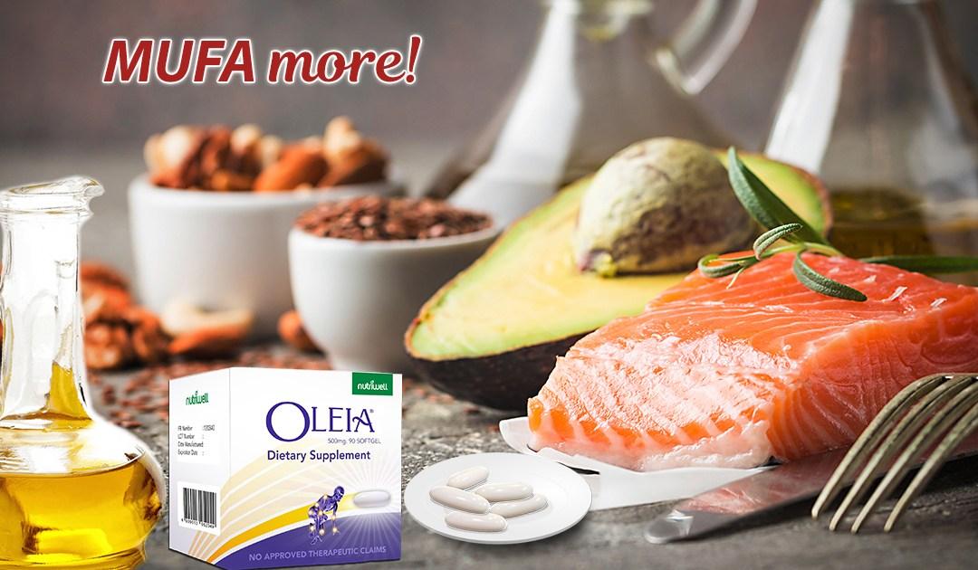 Stay Healthy. MUFA More!