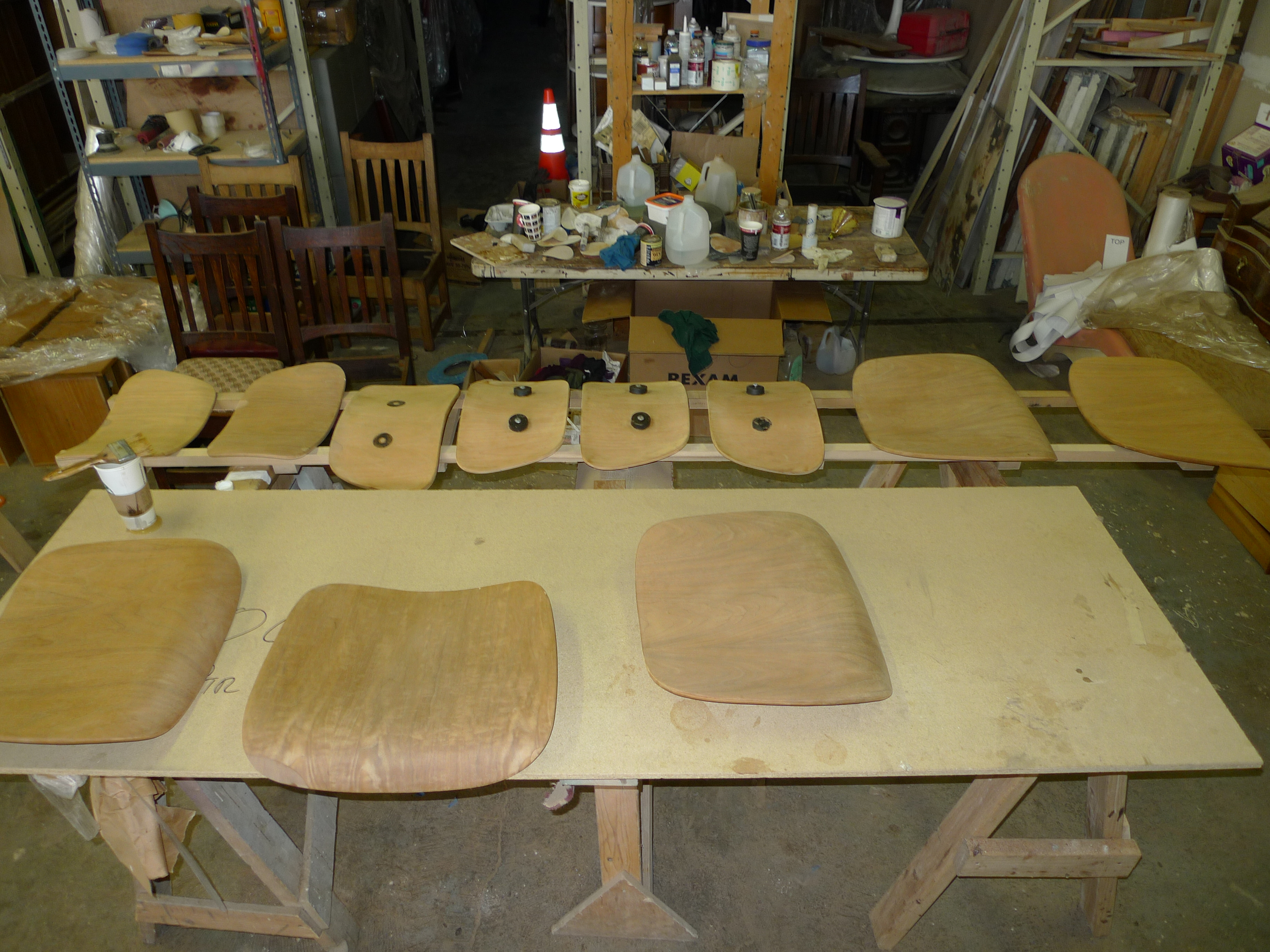 Eames Dining and Lounge Chairs Repairs Shock Mounts