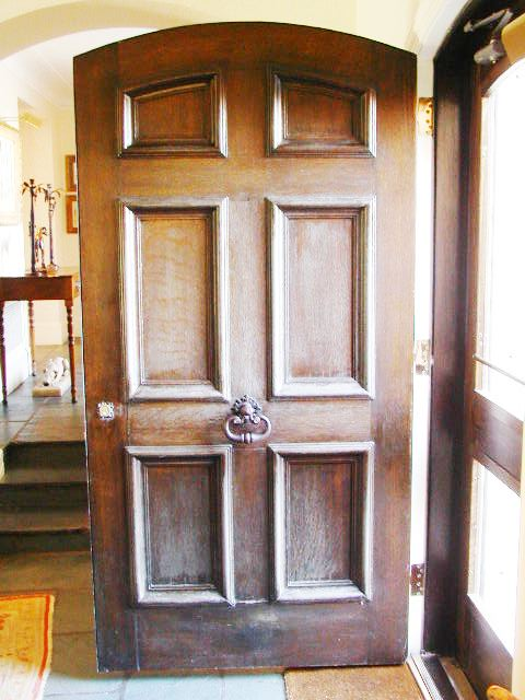 Restoration  Preservation Doors for Carved Oak Door