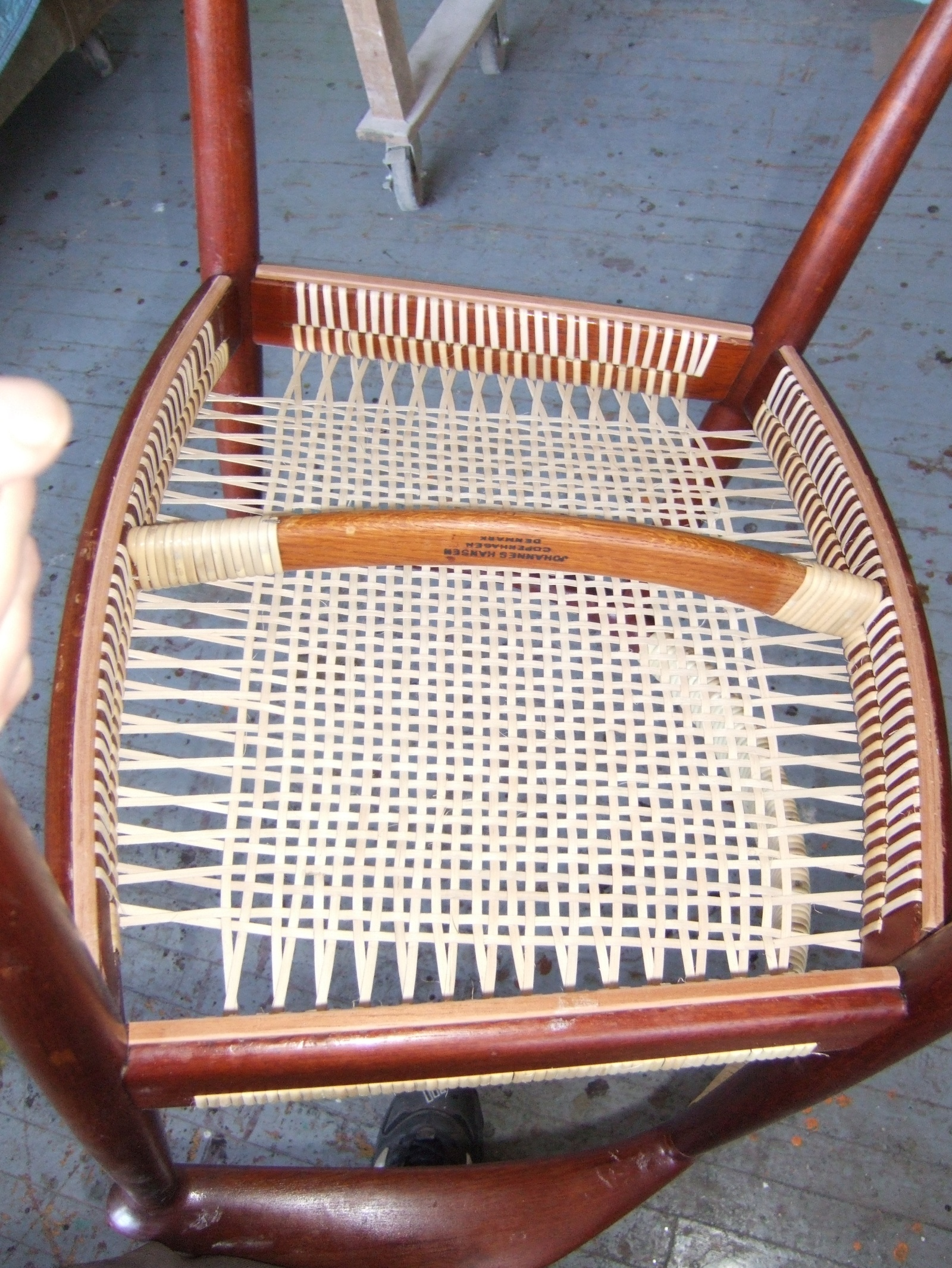 string chair seat white wooden fold chairs caning rush splint wicker seagrass rope weaving