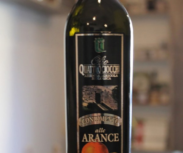 Condimento alle arance a base di olio extra vergine di oliva biologico 250ml