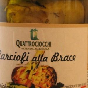 Carciofi alla brace- Az.Agricola biologica Quattrociocchi