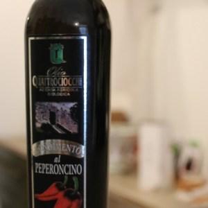 condimento al peperoncino a base di olio extra vergine di oliva biologico 250ml