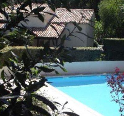 Maison de vacances dans résidence ac piscine