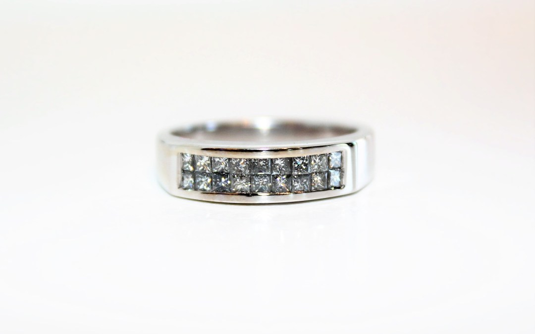 Outrageously low price on a beautiful diamond band Oletowne Jewelers