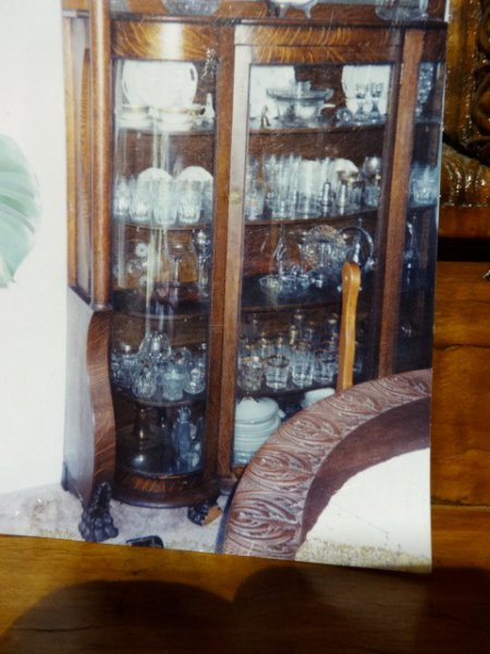 Antique Wooden Bookcase  Carved China Cabinet in PA