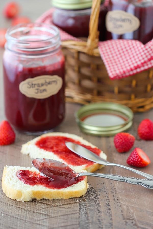 How To Make Homemade Strawberry Jam  Olgas Flavor Factory