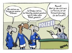 RevierSport Cartoon  SCHN DOOF