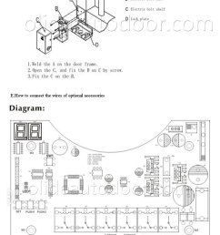 olide swing gate opener single arm with photocell alarm gate photocell wiring diagram [ 700 x 1136 Pixel ]