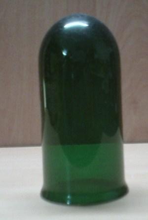 Groen glas voor Industria putslamp 15