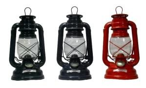 19671 stormlampen 25 cm set 3 kleuren