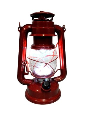 19200R stormlamp rood 23 cm LED