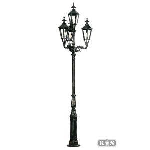 Tuinlamp Brussel, antraciet-0