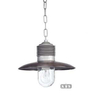 Kettinglamp Ampère Alu-Chroom, aluminium/chroom-0