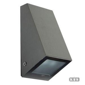 Downlighter klein 15cm, rvs-0