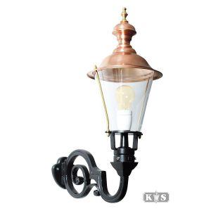 Buitenlamp Amstel M, groen/koper-0