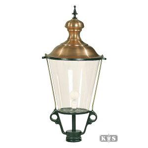 Buitenlamp K1, groen/koper-0