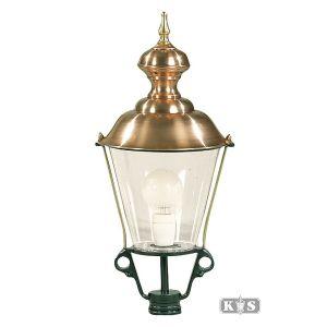 Buitenlamp K3A, groen/koper-0