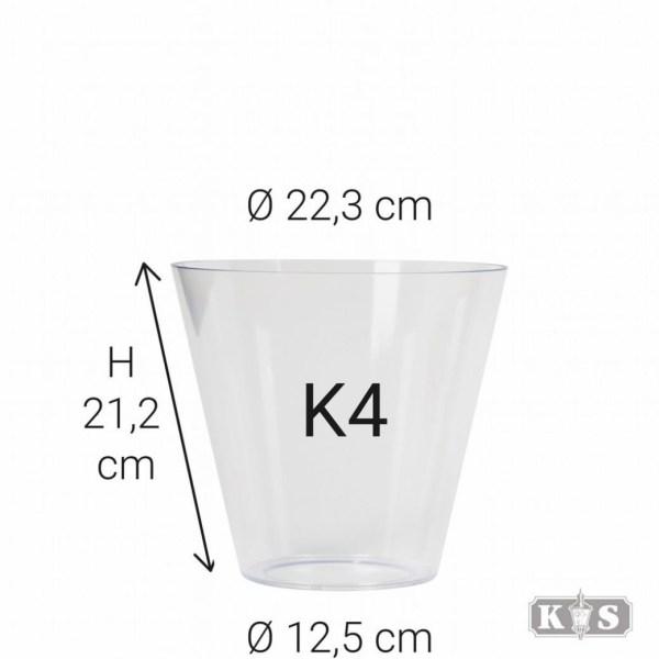 Echt glas K4, helder-0