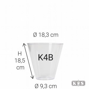 Echt glas K4B, helder-0