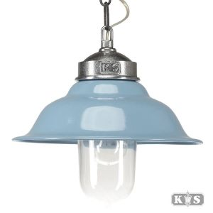 Hanglamp Porto Fino Blauw, melkblauw-0