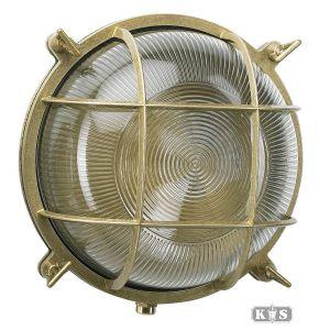 Muurlamp Ocean 1, brons