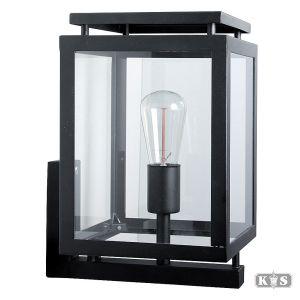 Muurlamp de Vecht, zwart-0