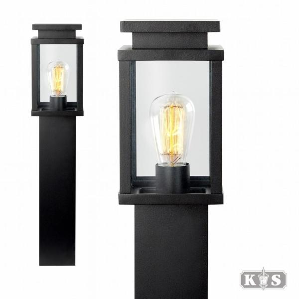 Tuinlamp Jersey, zwart-0