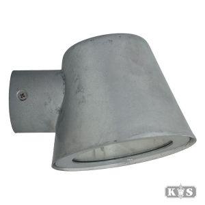 Muurspot Vita cup zink, verzinkt staal-0