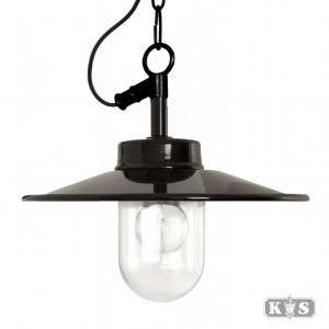 Vita kettinglamp, zwart-0