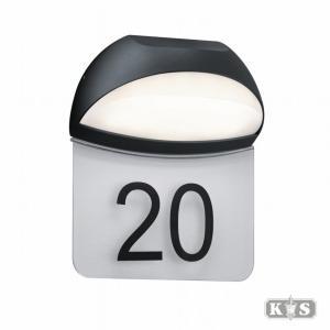 Numero wandlamp, antraciet