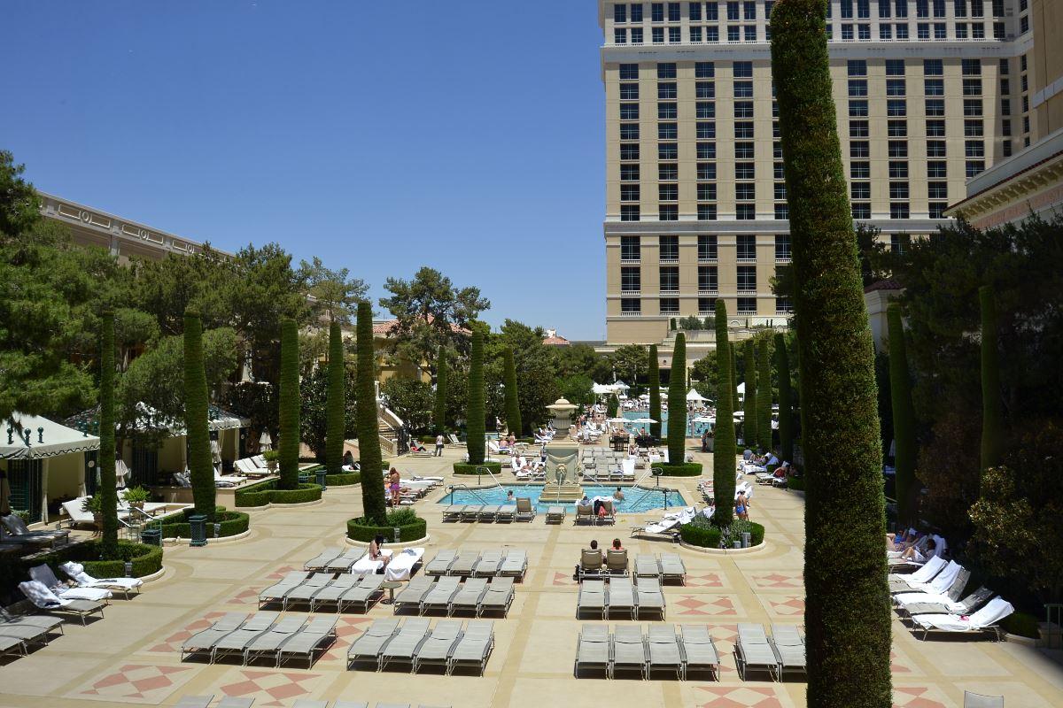 Htel Bellagio Casino Las Vegas  Htel de luxe  Las Vegas Etats Unis dAmrique