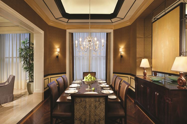 japanese inspired living room light brown curtains caesars palace las vegas - luxury hotel in ...