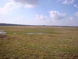 The weekend before. Nice sky, soggy field :(