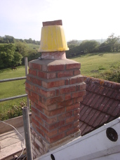 New chimney.