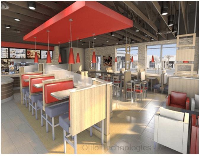 New Restaurant Design Revit Modeling Furniture And