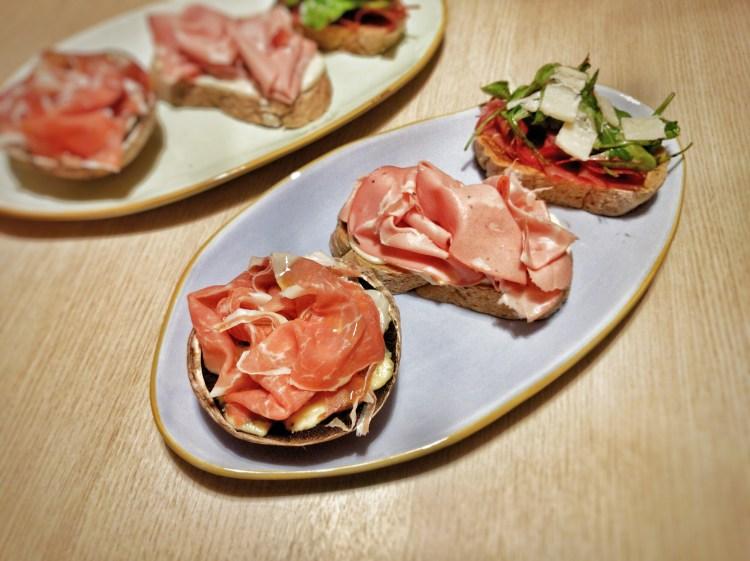Quick Italian snacks