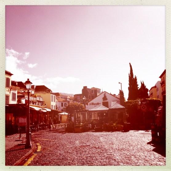 Platz in der Altstadt von Funchal