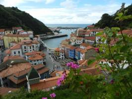 Cudillero Panoram Urlaub Asturien