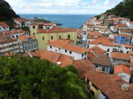 Panorama Cudillero Asturien