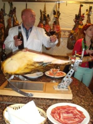Serrano Schinken Kulinarik Reise